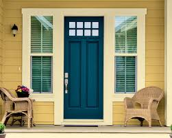 beautiful paint colors for front doors