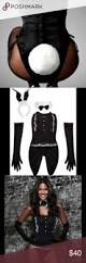 Cheap Playboy Bunny Halloween Costumes Electra Designs Playboy Bunny Body Suit Corset Bodies Corset
