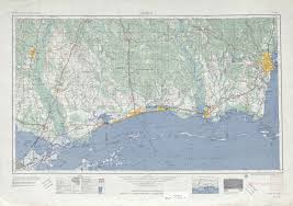 County Map Of Mississippi Alabama Topographic Maps Perry Castañeda Map Collection Ut