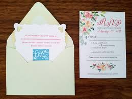 wedding invitations rsvp my diy story mint floral wedding invitation cards