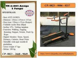 Treadmill Manual Tl 002 1 Fungsi treadmil manual multifungsi tl 004 sudah 6 fungsi alat olahraga