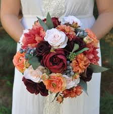 wedding flowers etc diy bridal bouquets for a fall wedding follow this how to at