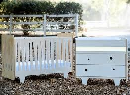 Changing Table And Crib Eco Friendly Cribs And Changing Tables By Numi Numi Design Bring A