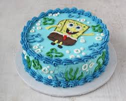 spongebob cake and smash cake rose bakes