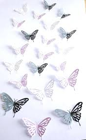 100 large paper butterfly decorations wholesale large paper