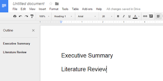Google Doc Table Of Contents Enable The Document Outline Pane In Google Docs For Faster Navigation