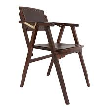 Folding Chair Leather King George Field Chair J And R Guram