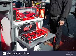 toy ferrari los angeles california usa 21st february 2016 a display of