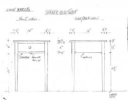 shaker end table plans shaker end table woodworking talk woodworkers forum