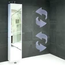 Bathroom Swivel Mirror Bathroom Mirrors With Storage Wall Mirror With Storage Mirror With