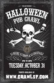 the san francisco halloween pub crawl tickets in san francisco ca