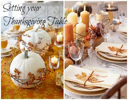 more than paper setting your thanksgiving table