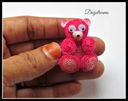 daydreams quilled teddy bear card