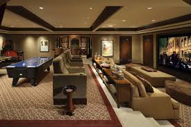 Home Theater Room Decor Luxury Media Room Game Room Landry Design Group Inc High End