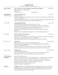 Download Resume Template For Word Resume Examples Templates Free Examples Mccombs Resume Template