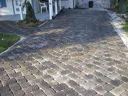 exterior ideas paver stone driveway make your driveway look great