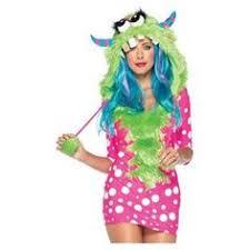 Spirit Halloween Monster Costume Disfraz Chica Barrio Sésamo Monstruo Las Galletas