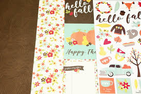 welcome to mwl singapore official website new arrivals happy harvest collection patterned papers and cardstock stickers