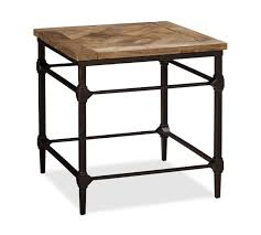 iron and wood side table interior reclaimed wood end table reclaimed wood end table parquet