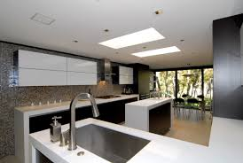 enzy living white u0026 wenge modern kitchen remodel
