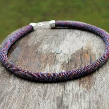 colored rope necklace images Shop seed bead rope necklace on wanelo jpg
