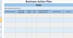 business plan format xls project action plan template free project plan template project