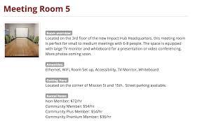 Text Room Meeting Rooms San Francisco