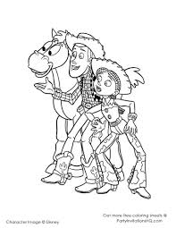 woody buzz coloring pages lightyear toy story