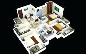 Bedroom Design Software Simple 3 Bedroom House Plans Three Bedroom Home Design 3 Bedroom