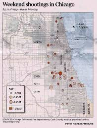 Chicago Shootings Map by Tutor Mentor Institute Llc Chicago War Zone 49 Shot Over Weekend