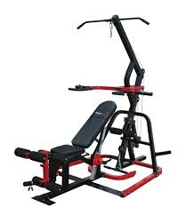 bodymax cf500 elite levergym with 150kg of rubber and metal