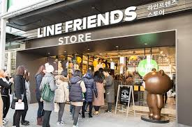 Line Store Miss Happyfeet Korea Line Friends Flagship Store And Cafe