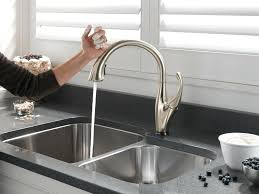 touch free kitchen faucets fancy free kitchen faucet with regard to touch ideas 11