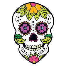 back to nature sugar skull temporary taintedtats