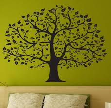 online get cheap black decos aliexpress com alibaba group beautiful tree wall decal deco art sticker mural in black size 45 quot x33 quot
