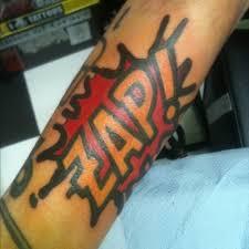 zayn malik u0027s new graphic comic inspired tattoo tattoos