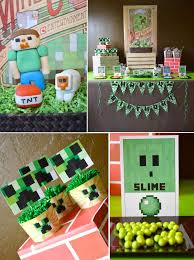 minecraft birthday party 310 best minecraft party ideas images on birthday party