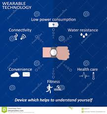 wearable technology smart devices stock photography image 37168782