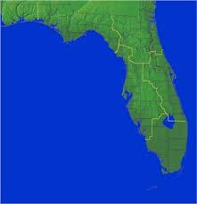 satellite map of florida weather