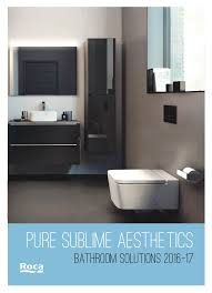 roca bathroom products catalogues at wizbox