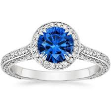 rings with brilliant images Enchant halo sapphire engagement ring brilliant earth the jpg