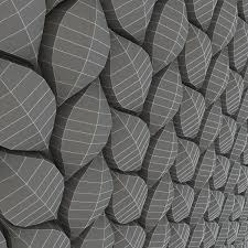 3d surface tressia wall tiles cgtrader