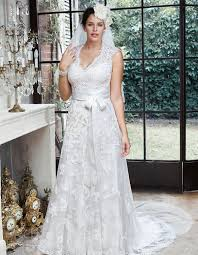 plus size wedding dresses curve collection