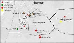 Map Of Benghazi Benghazi Update Hawari Control Map U2013 Libya Security Monitor U2013 Medium