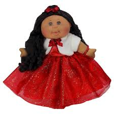 Cabbage Patch Kids Halloween Costume Cabbage Patch Kids 14 Holiday Kid 2016 African American Red