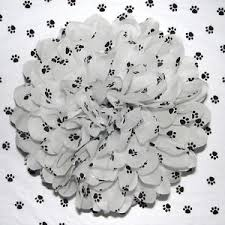 paw print tissue paper white paw print tissue paper dog puppy paper 17gsm 50x75cm 5 10