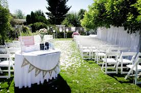 Wedding In The Backyard Not So Shabby Shabby Chic My Fairytale Backyard Wedding 7 18 2015