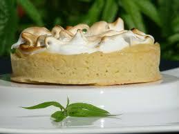 vervenne cuisine tarte meringuée à la verveine citronnelle le flo des saveurs