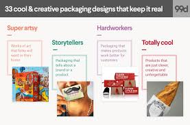 packaging design 33 cool creative packaging designs that keep it real 99designs