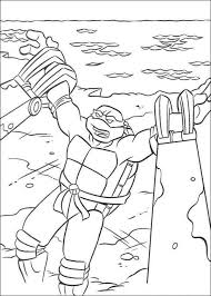 ninja turtles coloring pages free printable picture 7 550 770